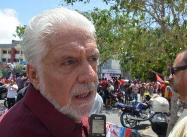 Jaques Wagner afirma que País vive 'ditadura dissimulada' em visita a Conquista