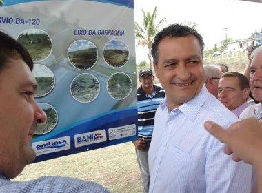 Bahia receberá R$ 758 milhões para obras de abastecimento de água em 9 cidades
