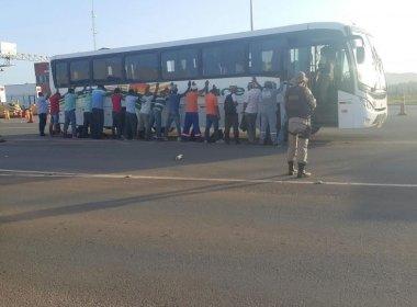 Passageiros suspeitam de homens e polícia impede assalto a ônibus em Pojuca