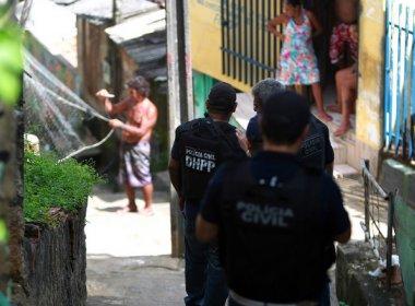 Operação prende 56 assassinos do interior do estado em um dia, aponta Polícia Civil