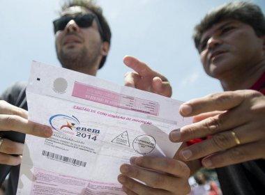 Aumenta número de inscritos que terão provas do Enem adiadas para dezembro