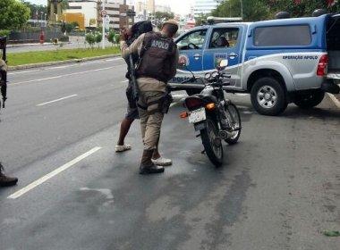 Polícia Militar prende homicida durante abordagem a moto na Liberdade