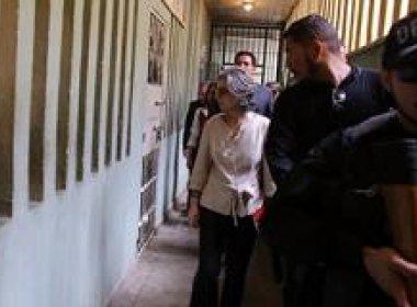 Presidente do STF faz visita surpresa à Papuda e registra superlotação