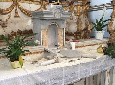 Igreja de Nossa Senhora da Conceição suspende atividades após roubo de peças