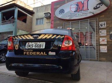 PF cumpre mandados em Salvador, Feira e Serrinha contra venda ilegal de armas