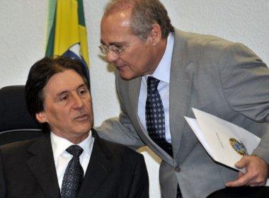 Renan Calheiros vai apoiar Eunício Oliveira para presidência do Senado, diz coluna