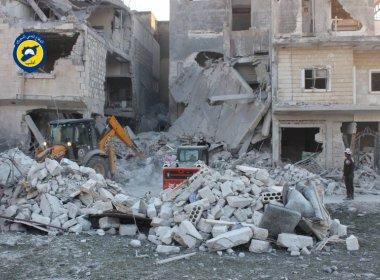 Após novos ataques, maior cidade da Síria não tem mais hospitais