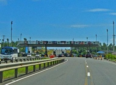 Bahia Norte desvia tráfego na Estrada do Coco por causa da construção da Via Metropolitana