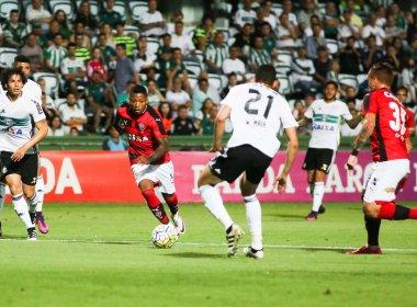 Vitória bate Coritiba e fica muito perto de garantir permanência na Série A