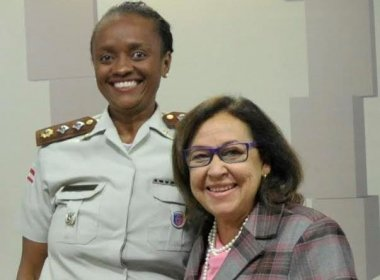 Policial baiana que comanda Ronda Maria da Penha recebe homenagem no Senado