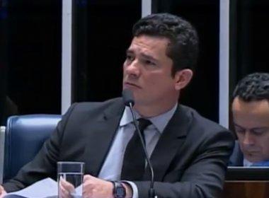 No Senado, Sérgio Moro critica 'emendas da meia-noite' em pacote anticorrupção