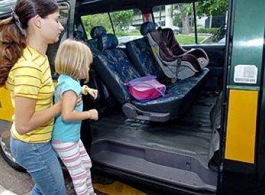 Contran suspende obrigatoriedade de cadeirinhas para crianças em transporte escolar