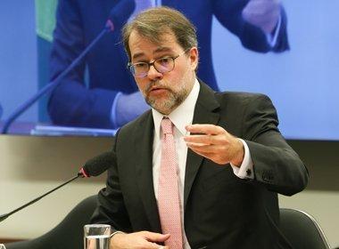 Toffoli: prazo para devolver ação que restringe linha sucessória não começou