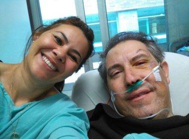 Jornalista que sobreviveu a acidente posta foto no hospital: 'Não tinha ideia do carinho'