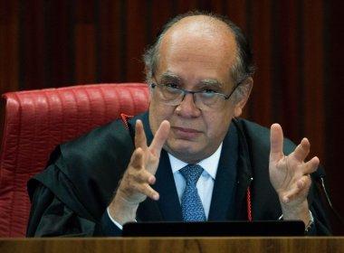 Decisão de afastar Renan do Senado é caso de impeachment de ministro do STF, diz Gilmar