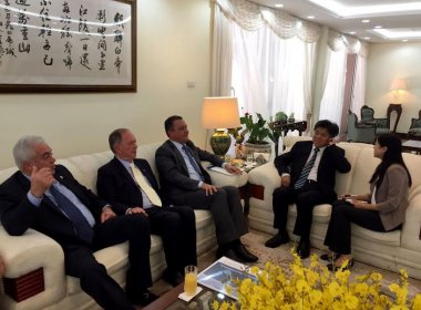 Em Brasília, Rui discute com governo chinês novos investimentos para a Bahia