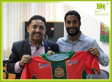 Ex-Bahia, Ávine acerta com a Juazeirense para o Campeonato Baiano