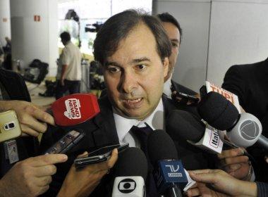 Rodrigo Maia pede que STF decida sobre andamento do impeachment de Temer