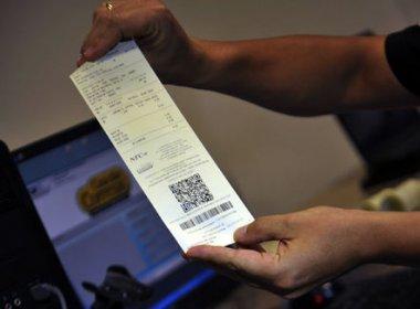 Empresas criadas em 2017 terão que aderir a Nota Fiscal do Consumidor Eletrônica