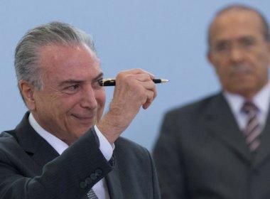 Temer deverá dizer em pronunciamento que fez mais do que Dilma nesse período de gestão