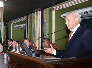 Waldir Pires se despede dos mandatos eletivos, mas promete seguir na política