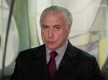 Contrapartidas de renegociação de dívidas serão cobradas, diz Temer