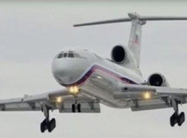 Governo russo encontra caixa-preta de avião militar que caiu no Mar Negro