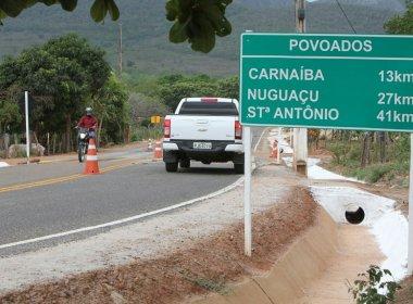 Governo entrega estrada pavimentada em Pindobaçu