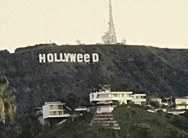Polícia investiga mudança no letreiro de Hollywood que faz alusão à maconha