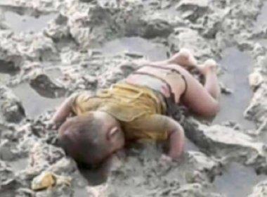 Foto de bebê morto após naufrágio em rio de Mianmar provoca comoção internacional