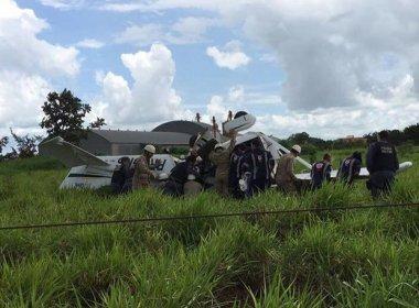 Avião com família do Paraná cai no Mato Grosso e deixa duas pessoas mortas