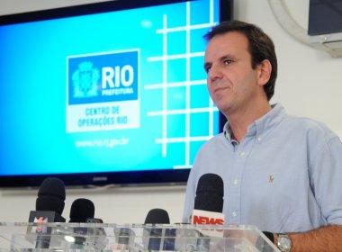 Eduardo Paes presta depoimento por inquérito em que é investigado com Aécio Neves
