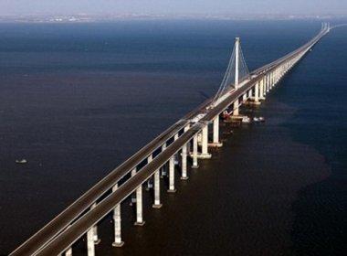Governo assina acordo com empresa chinesa para estudo sobre a Ponte Salvador-Itaparica