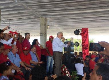 Wagner vai discutir com Lula possibilidade de assumir presidência do PT na Bahia