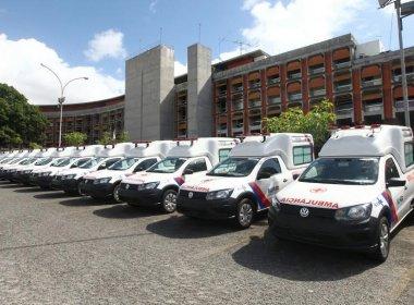 Governo entrega de 48 ambulâncias para municípios baianos