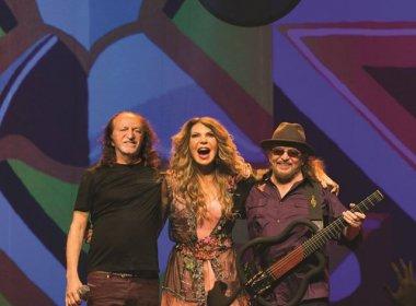 Elba, Alceu e Geraldo se reúnem na Concha para celebrar 20 anos do 'Grande Encontro'