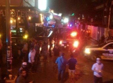 Atirador mata cinco pessoas e deixa feridos em boate no México