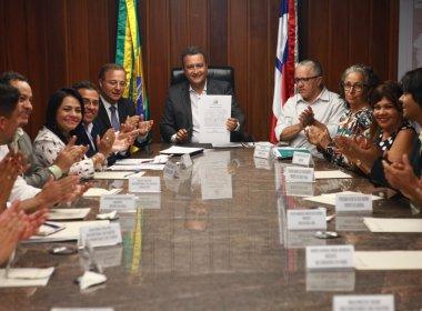 Rui autoriza construção de policlínicas em Simões Filho e Alagoinhas