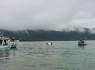 Avião cai no mar em Paraty após decolar de São Paulo