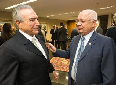 PRESIDENTE TEMER DECRETA TRÊS DIAS DE LUTO OFICIAL