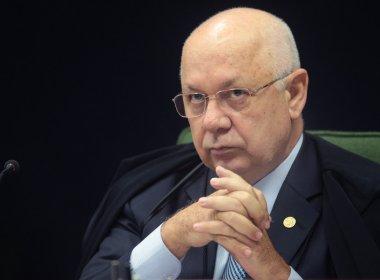 CORPO DO MINISTRO TEORI FOI RESGADO DO MAR