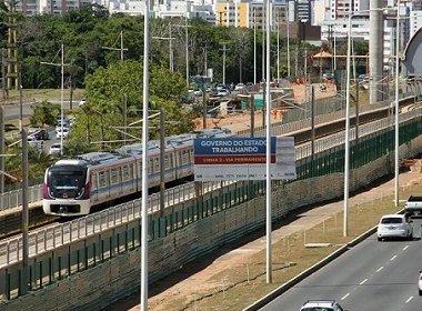 Com 87% das obras, Linha 2 do metrô faz primeira viagem teste da Rodoviária à Pituaçu