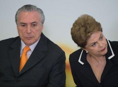 Em relatório ao TSE, PF aponta irregularidades em pagamentos da chapa Dilma-Temer