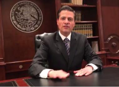 'O México não pagará nenhum muro', diz Peña Nieto em vídeo no Twitter