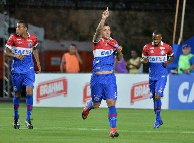 Em Pituaçu, Bahia vence o Jacobina e inicia o Campeonato Baiano como líder