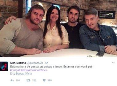 Família de Eike Batista promove hashtag em apoio e internautas fazem piada