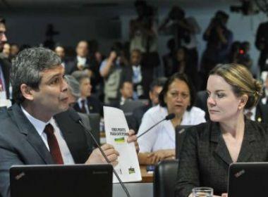 Senadores petistas entram em conflito por apoio a Eunício Oliveira no Senado