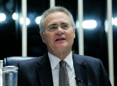 Renan é indicado líder da bancada do PMDB no Senado