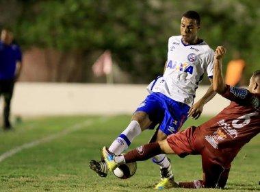Em jogo apagado, Jacuipense e Bahia empatam sem gols em Riachão