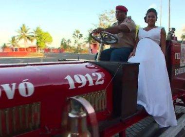 Bombeiros fazem 'vaquinha' para pagar casamento surpresa de colega